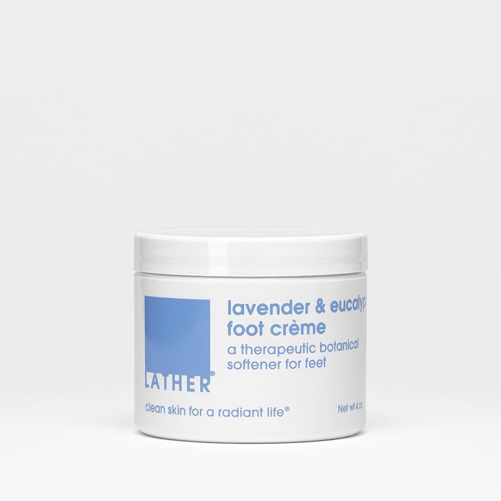 null - Lavender & Eucalyptus Foot Crème