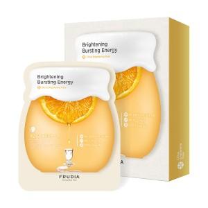 null - FRUDIA - Citrus Brightening Mask - 5pcs