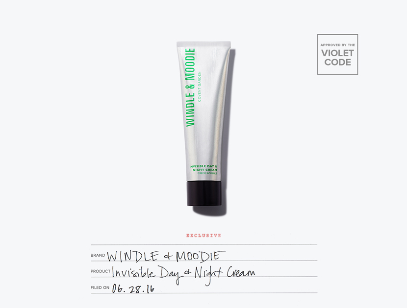 null - Windle & Moodie Invisible Day & Night Cream