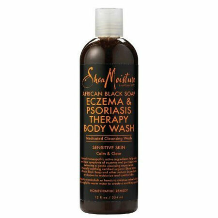 SheaMoisture - SheaMoisture African Black Soap Eczema & Psoriasis Therapy Body Wash (12 oz.)