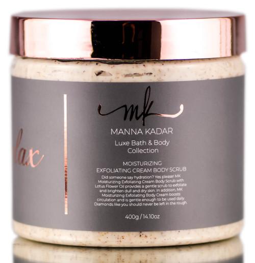 SleekShop.com (formerly Sleekhair) - Manna Kadar Relax Luxe Bath & Body Collection Moisturizing Exfoliating Cream Body Scrub