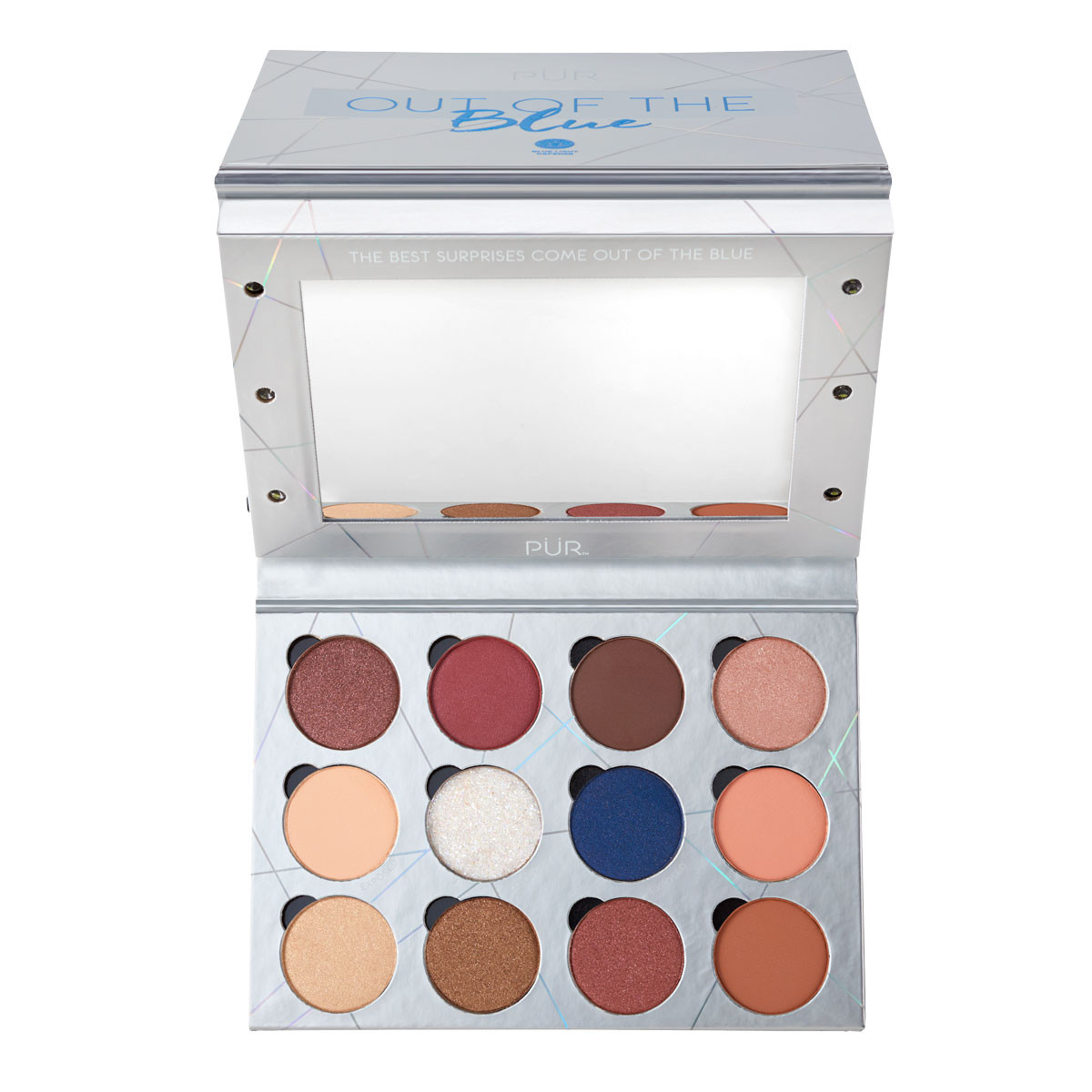 null - Out of the Blue Light Up Vanity Eyeshadow Palette