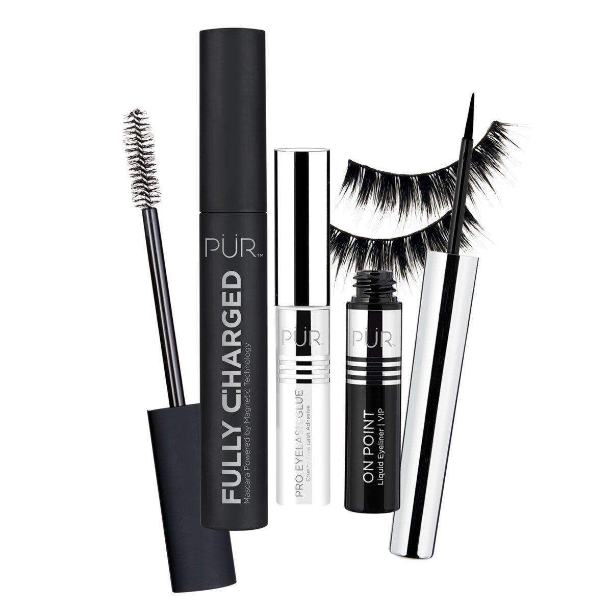 Pur Store View Life of the Party Mascara, Liner and Lash Set