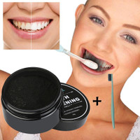 Wish.com - Wish | Activated Charcoal Organic Professional Bamboo Whitening Natural Powder Toothpaste