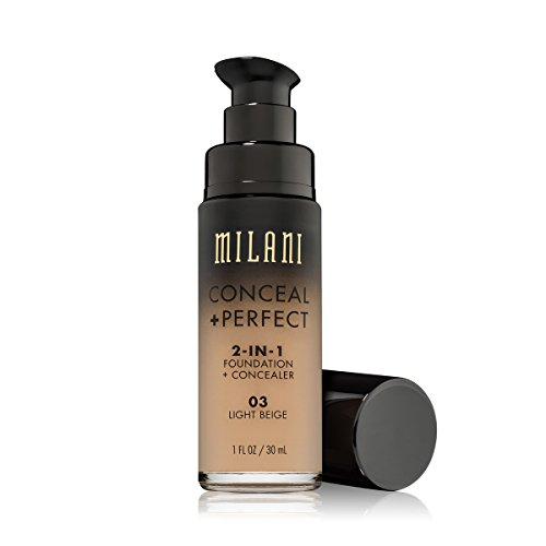 Milani - Conceal + Perfect 2-In-1 Foundation + Concealer - Light Beige