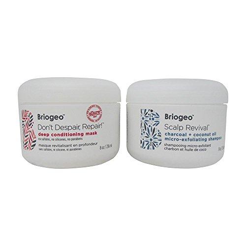 Briogeo - Scalp Revival Charcoal + Coconut Oil Micro-Exfoliating Shampoo & Don't Despair, Repair Deep Conditioning Mask