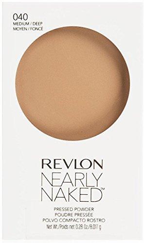 Revlon Medium Deep Nearly Naked Pressed Powder