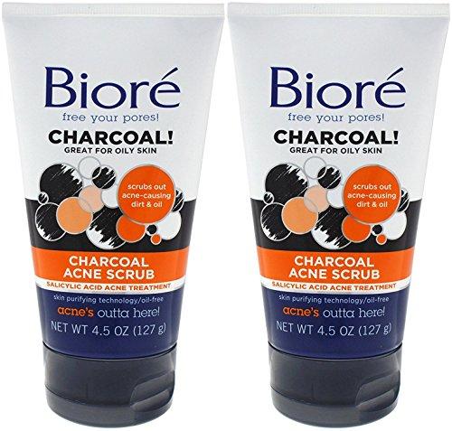 Bioré - Charcoal Acne Scrub