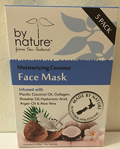 By Nature - By Nature From New Zealand Moisturizing Coconut Face Mask