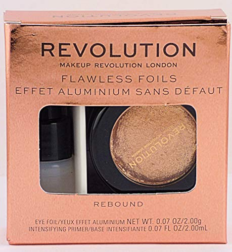 Makeup Revolution - Flawless Foils Eyeshadow, Rebound
