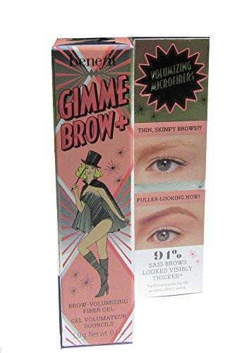 Benefit Cosmetics - Gimme Brow+ Volumizing Fiber Gel, Warm Golden Brown