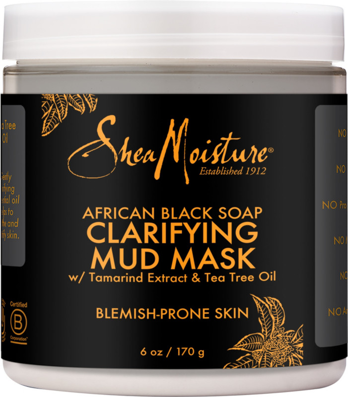 Shea Moisture - African Black Soap Clarifying Mud Mask