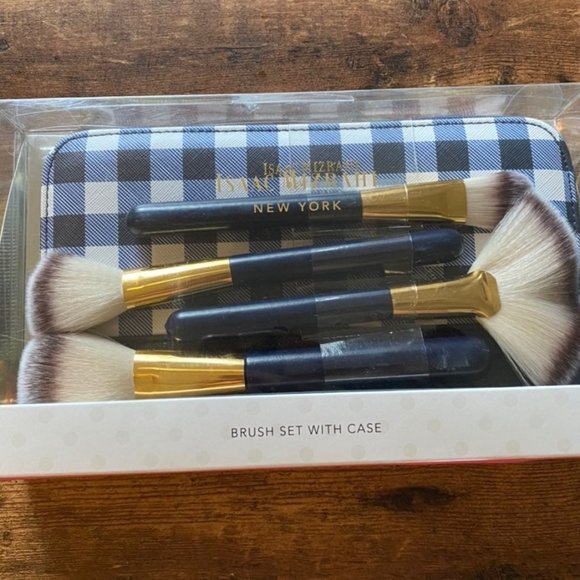 Isaac Mizrahi - Isaac Mizrahi Makeup Brush Set & Case