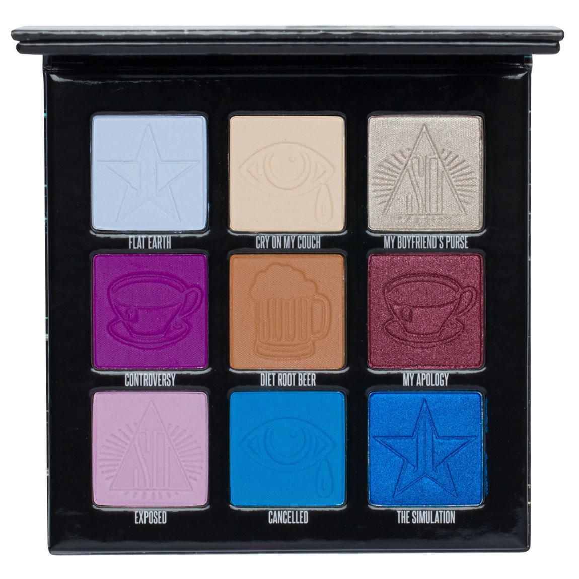 Jeffree Star Cosmetics - Mini Controversy Palette