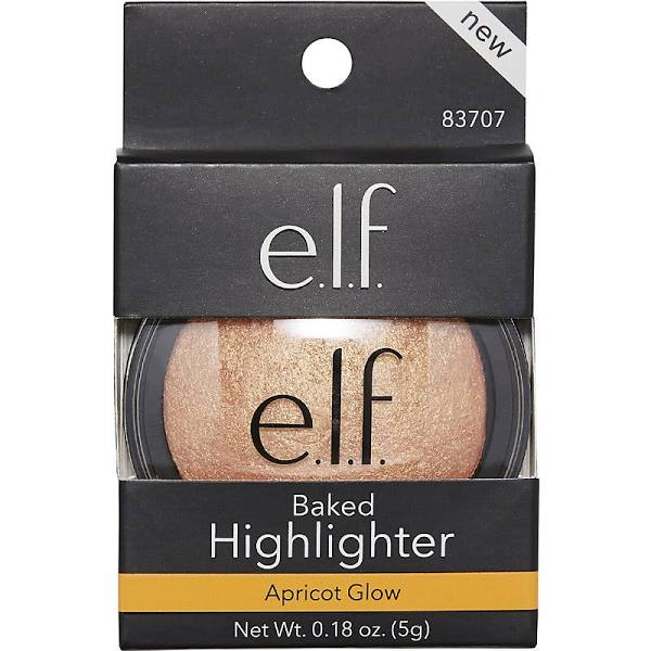 null - ELF Highlighter, Baked, Apricot Glow 83707 - 0.18 oz