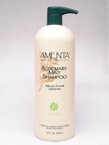 Amenta - Details about 1 Amenta Aromatherapy ROSEMARY MINT Shampoo Invigorating 32 fl oz