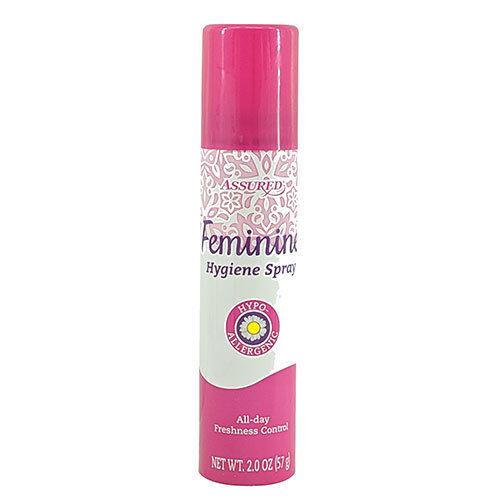 Assured - Assured Feminine Hygiene Spray Personal Care Feminine Deodorant All Day Freshnes