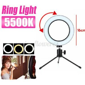 Unbranded/Generic - Details about 72 LED Ring Light w/ Stand & Holder Dimmable Lighting For Makeup Youtube !
