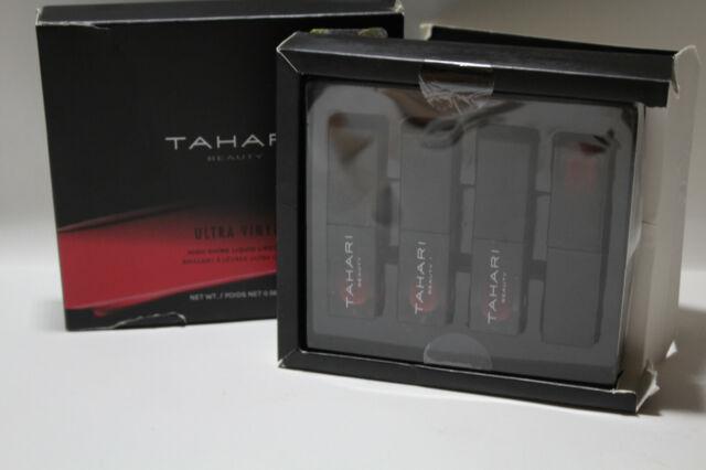 Tahari - Tahari Ultra Vinyl Liquid Lipstick Collection 4pcs Set Damage Box