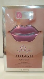 global beauty care - Details about Collagen Hydrogel Lip Mask Global Beauty Care- 3 lip treatments