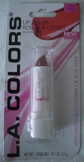 null - LA Colors Lipstick Luscious Wine L.A. Colors Lip Color BLC3