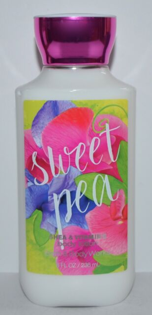 Bath & Body Works - Bath & Body Works Sweet Pea Lotion Cream Shea Butter Vitamin E 8 Oz
