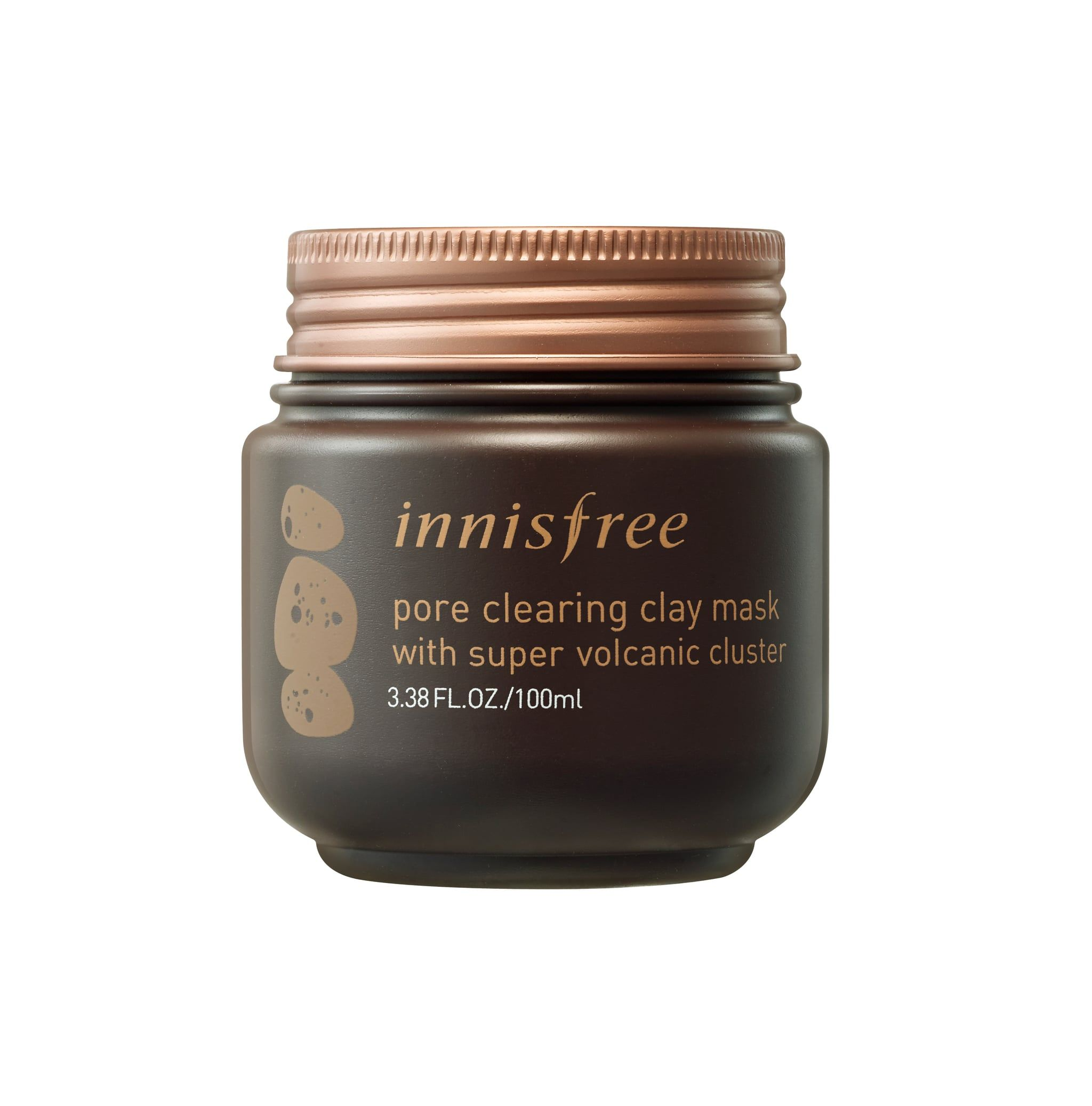 Innisfree - Pore Clearing Clay Mask with Super Volcanic Clusters