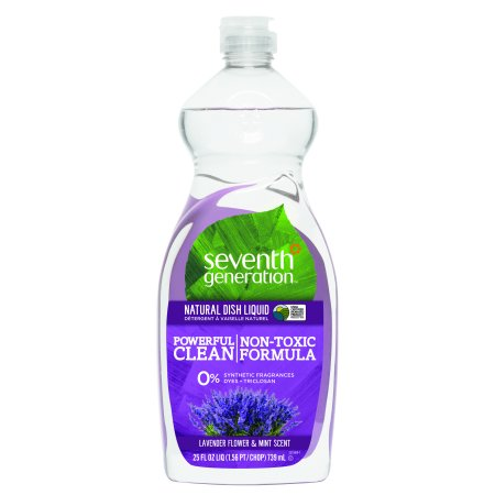 Walmart.com Seventh Generation Dish Liquid Soap Lavender Floral & Mint 25 oz - Walmart.com