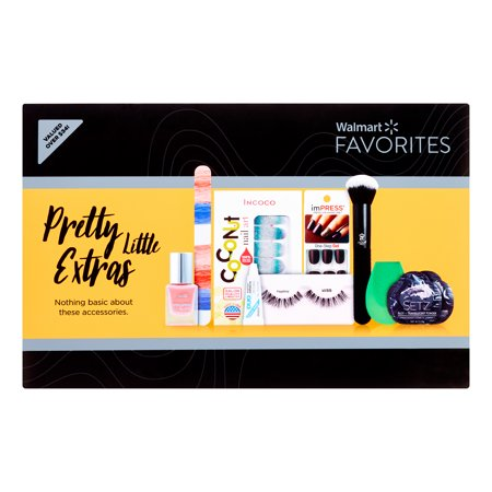 BEAUTY FAVORITES BOX - Walmart Beauty Favorites - Pretty Little Extras