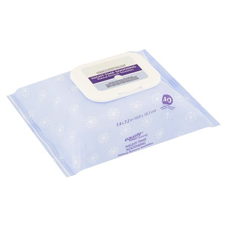 Equate Beauty - Night-Time Soothing Makeup Remover Towelettes