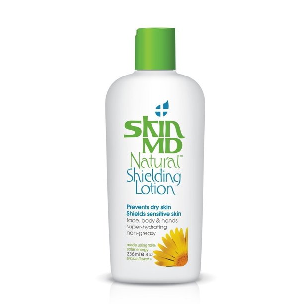 null - Skin MD Natural Shielding Lotion Absolutely Non-Greasy, Fragrance Free Gel Like for Face & Body, Hydrates 6 Times More than Regular Moisturizers, No More Irritation, Redness & Itching - 8oz-236 ml
