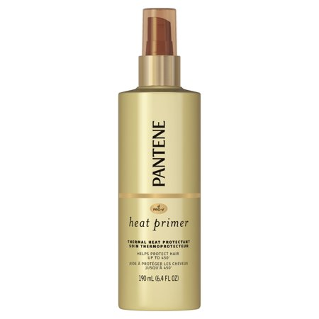 Pantene - Pantene Pro-V Nutrient Boost Heat Primer Thermal Heat Protection Pre-Styling Spray, 6.4 fl oz