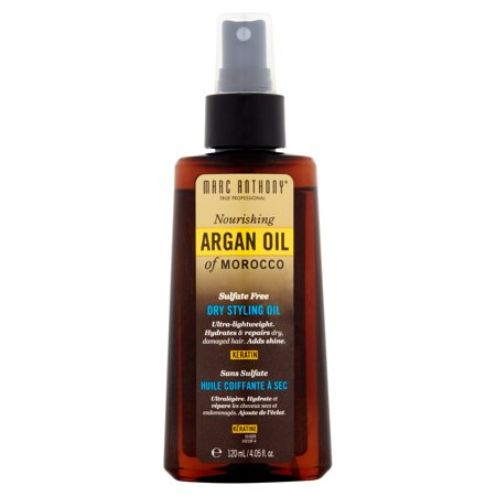 Walmart.com - Marc Anthony Keratin Nourishing Argan Oil of Morocco Dry Styling Oil, 4.05 fl oz - Walmart.com