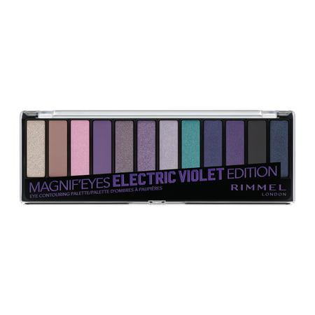 Rimmel Magnif'eyes Eyeshadow Palette, Electric Violet