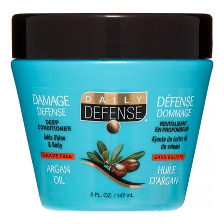 Daily Defense - Daily Defense 3 Minute Treatment Argan Oil Deep Conditioner