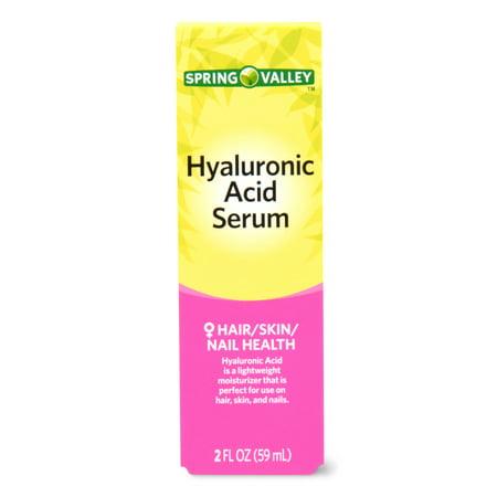 Spring Valley - Spring Valley Hyaluronic Acid Serum, 2 Oz