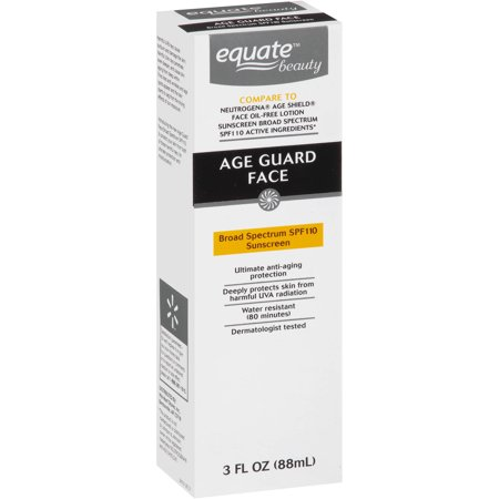 Equate Beauty - Equate Beauty Age Guard Face Sunscreen, SPF 110, 3 Oz