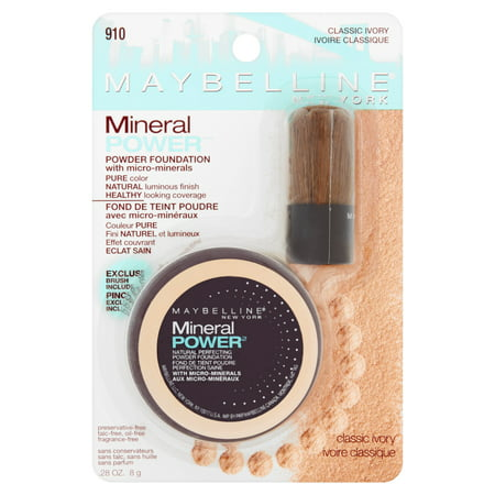 Maybelline - Maybelline Mineral Power Powder Foundation, Classic Ivory