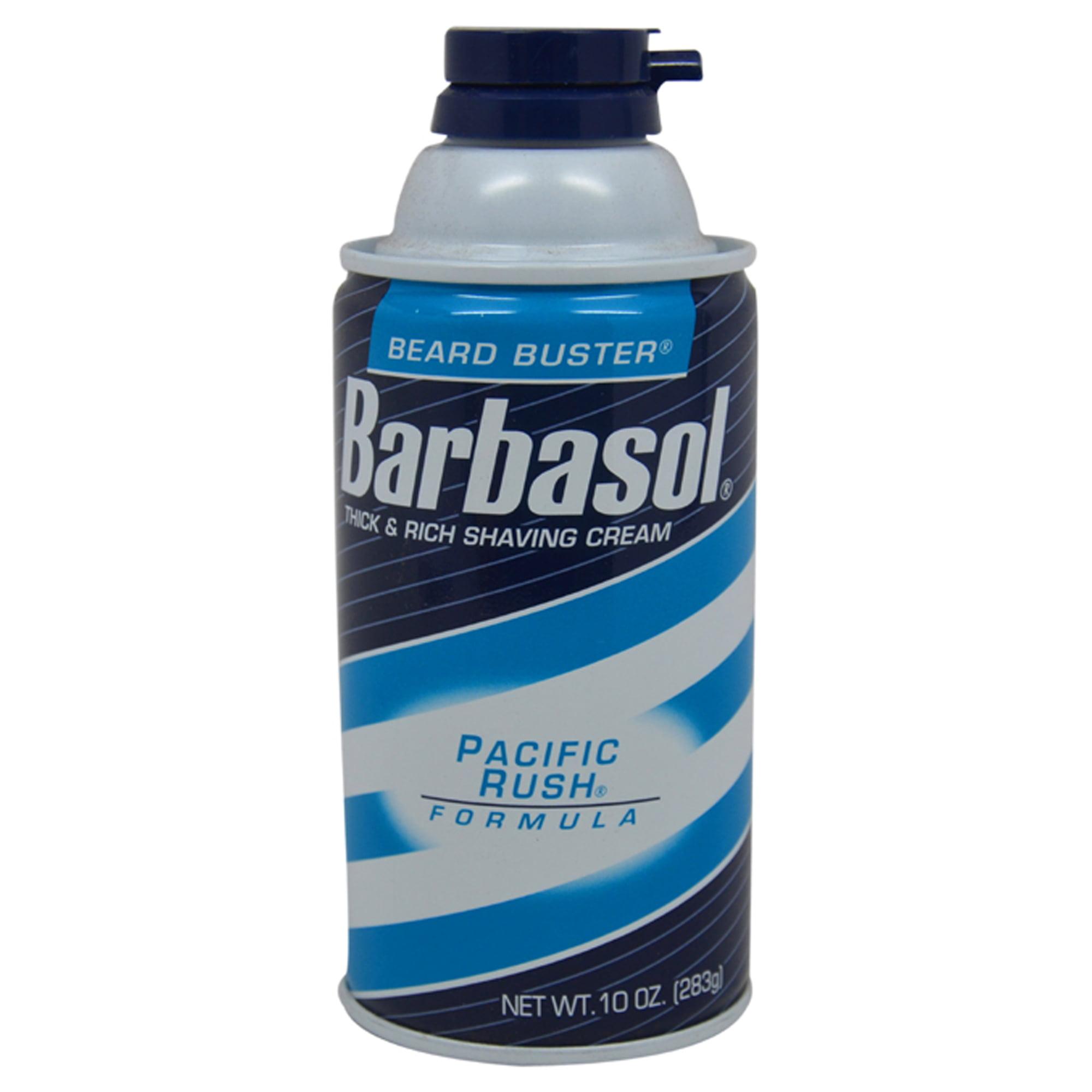 Walmart.com - Barbasol - Pacific Rush Thick & Rich Shaving Cream by Barbasol for Men - 10 oz Shaving Cream - Walmart.com