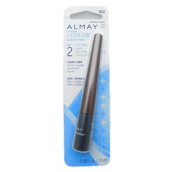 Walmart.com Almay Intense I-Color Liquid Eye Liner, 022 Brown Topaz, 0.08 fl oz - Walmart.com