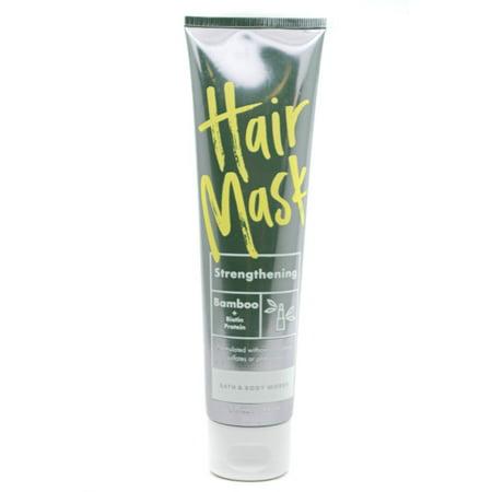 Bath & Body Works - Bath & Body Works Strengthening Bamboo + Biotin Protein HAIR MASK 5 fl oz