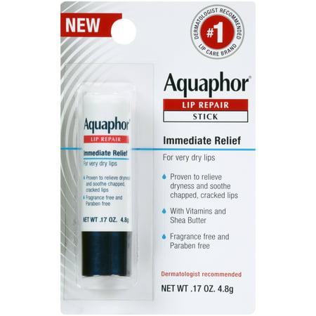 Walmart.com - Aquaphor Lip Repair Stick - Soothes Dry Chapped Lips - .17 oz. Stick - Walmart.com