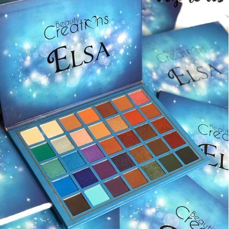 Beauty Creation - Elsa Eyeshadow Palette