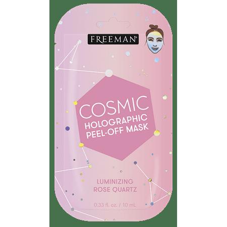 FREEMAN - Freeman, Cosmic Holographic, Luminizing Rose Quartz, Peel-Off Facial Mask