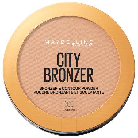 Maybelline - Maybelline City Bronzer Powder Makeup, Bronzer and Contour Powder, 200