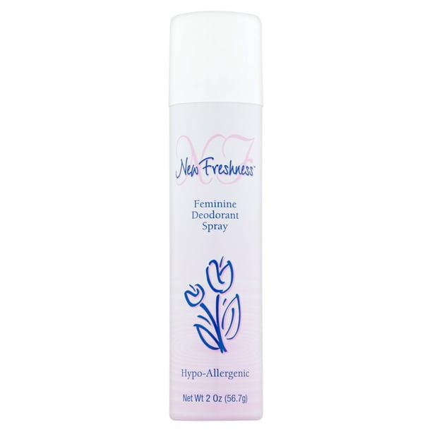 New Freshness - New Freshness Feminine Deodorant Spray - 2 Oz