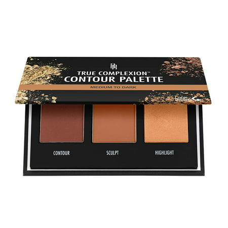 Black Radiance - True Complexion Contour Palette - Medium to Dark, Black Radiance True Complexion Contour Palette highlights, shapes and sculpts facial features for naturally enhanced.., By Black Radiance
