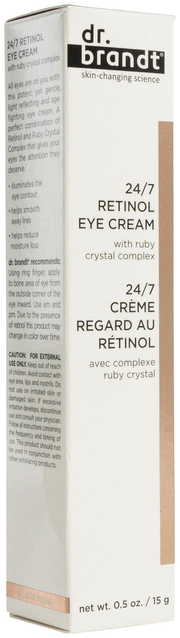 Walmart.com - Dr. Brandt - Dr. Brandt 24/7 Retinol Eye Cream 0.5 oz - Walmart.com