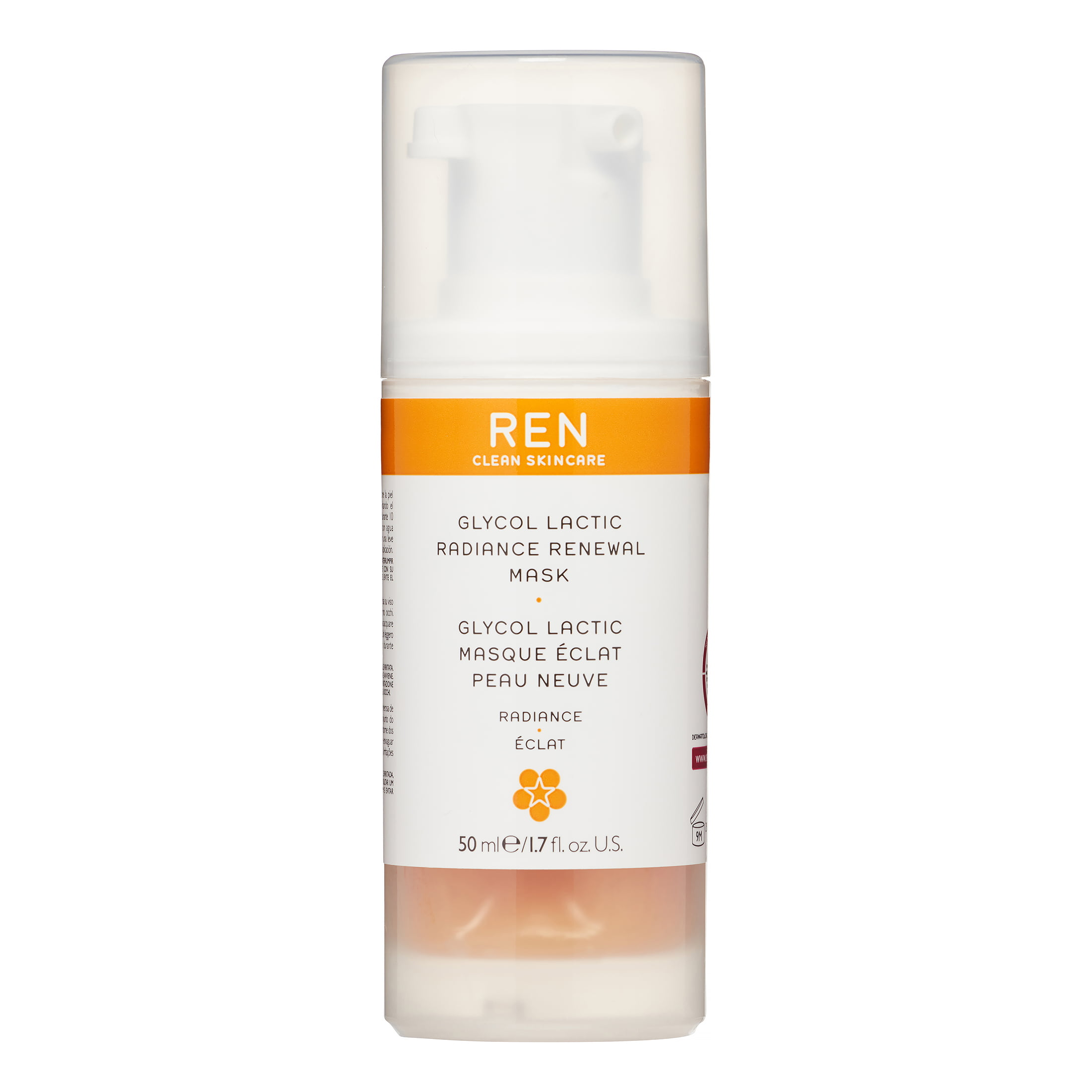 REN Skincare - Glycol Lactic Radiance Renewal Mask