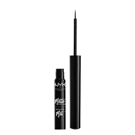 NYX - NYX Professional Makeup Matte Liquid Liner, Black